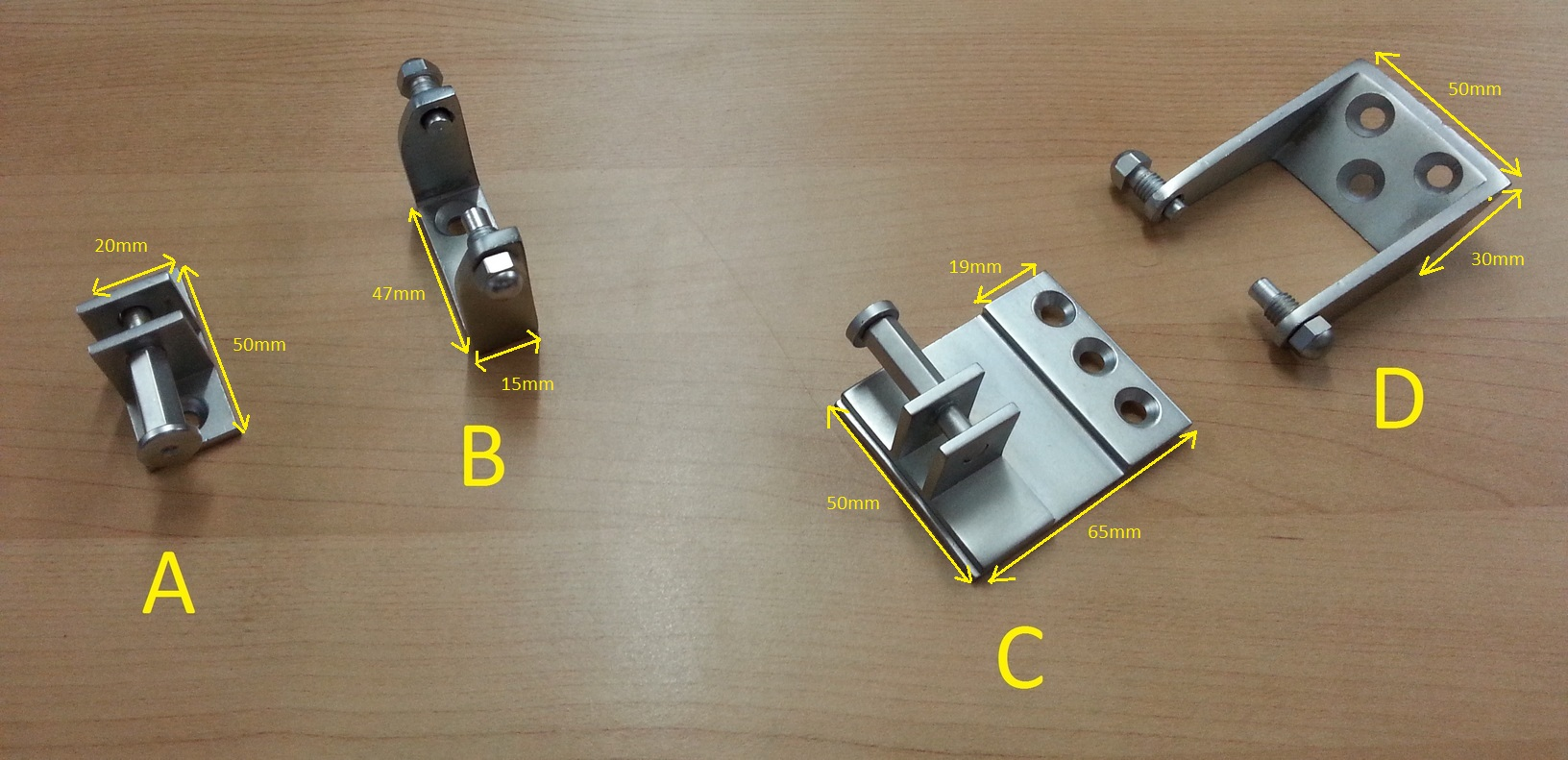 Twin Thread Bracket Choices